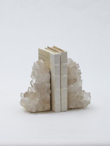 Quartz Crystal Bookends Pair Gervis Design Studio Bookends Design Crystals