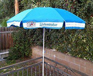 German Beer Garden Umbrellas   Amazon.com : Weihenstephaner Beer Patio  Umbrella : Other Products