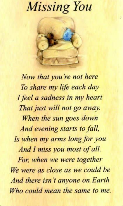 dikter om sorg och saknad