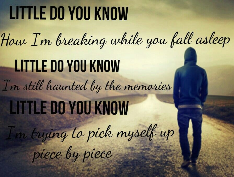 Lyric memories of a broken heart lyrics : Little do you know----Alex and Sierra | ♫ Lyrics ♫ | Pinterest ...