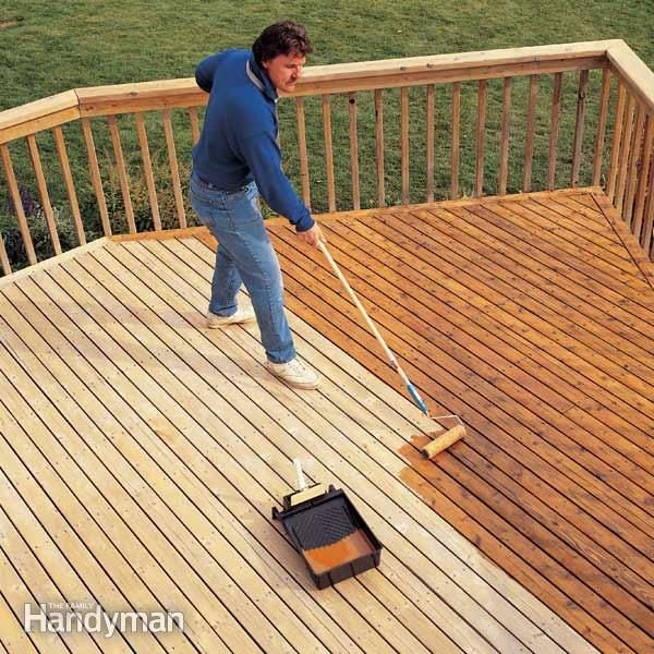 How To Revive A Deck Deck Finishes Building A Deck Diy