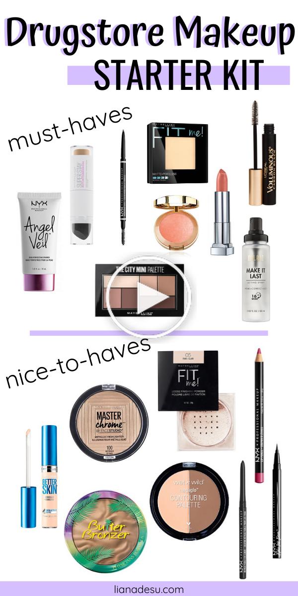 Ultimative Drogerie Makeup Starter Kit für Anfänger in