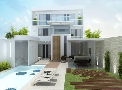 18 Modelos de Fachadas de Casas Modernas   House