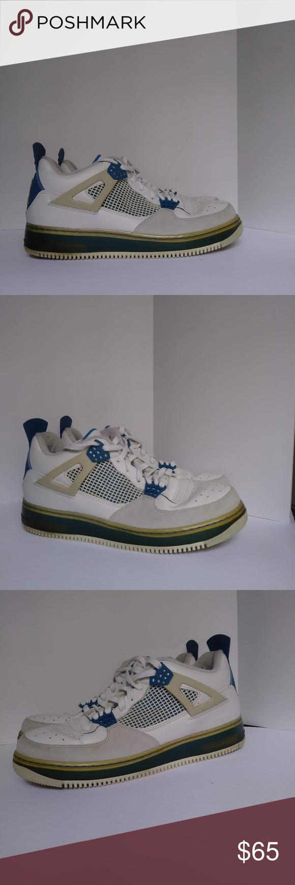 f1d72f70047 Air Jordan Force IV (AJF 4) Fusion Size 11 Pre-owned Men's Nike Air ...