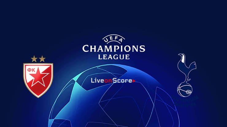 Fk Crvena Zvezda Vs Tottenham Preview And Prediction Live