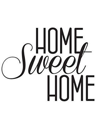 ambiance sticker vinilo adhesivo home sweet home vinilos vinilo adhesivo imprimibles etiquetas