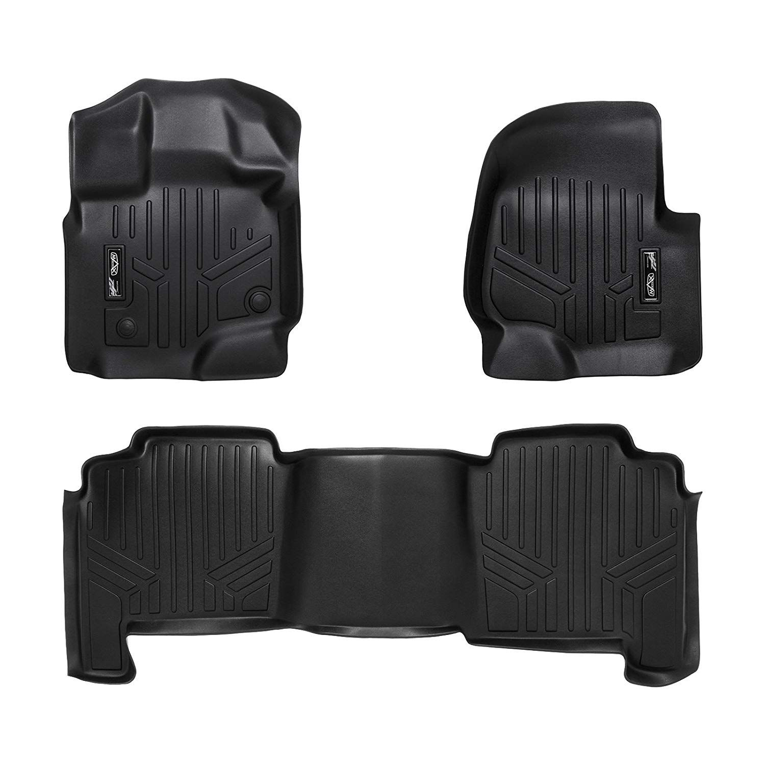 Smartliner Floor Mats 2 Row Liner Set Black For 2004 2008 Ford F 150 Supercrew Cab 2006 2008 Lincoln Mark Lt Crew Cab Want In 2020 Lincoln Mark Lt Ford F150 Ford