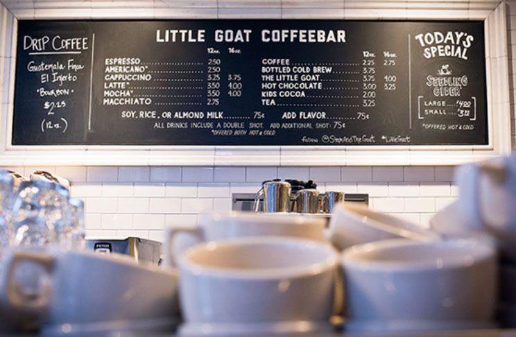 Little Goat #branding #menu #lettering #bakery #diner #restaurant #design #littlegoat #chicago