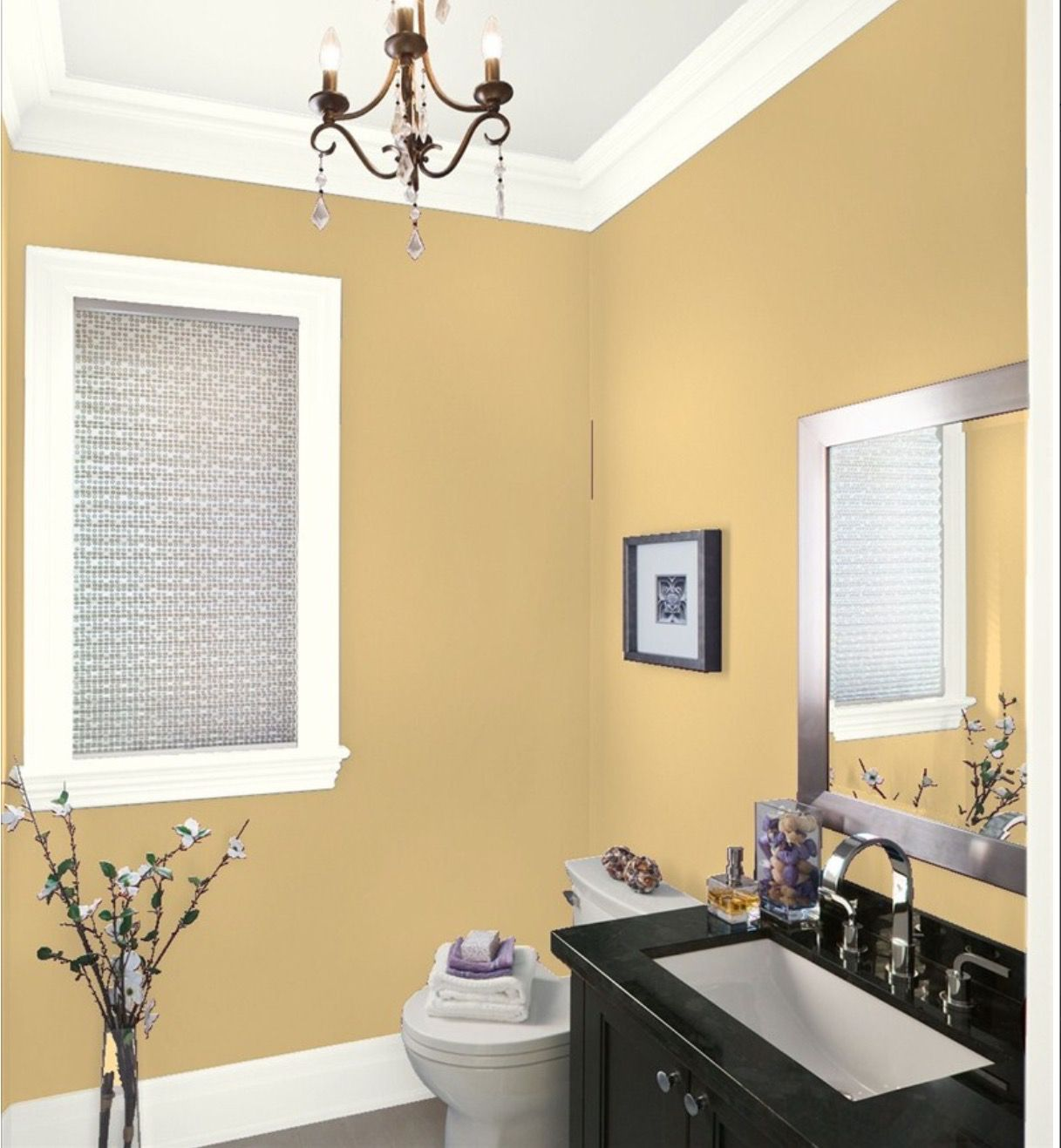 Chesterton buff | Bathroom | Pinterest | Living room paint, Paint ...