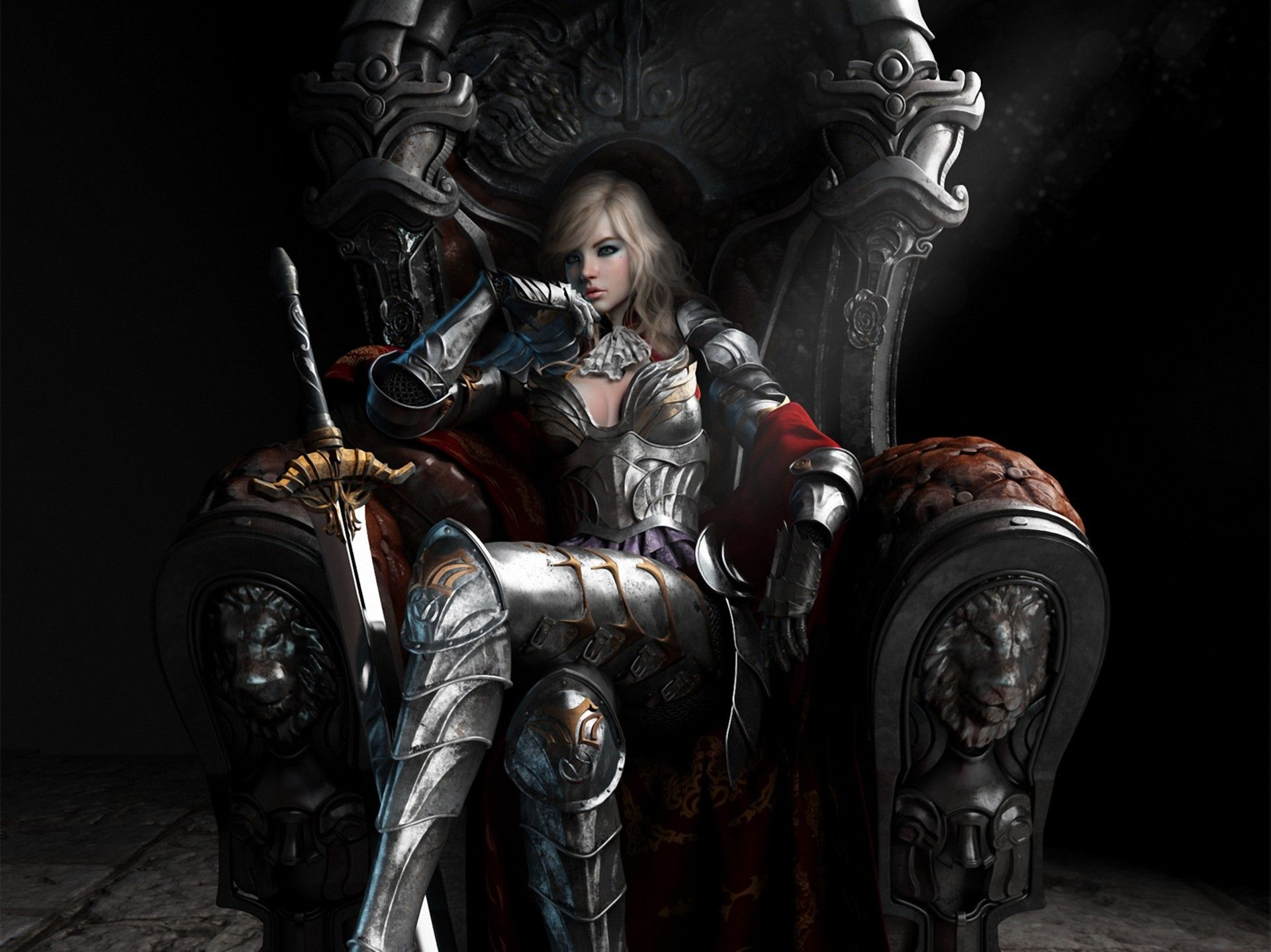 fantasy queen art collection great pictures, pure High