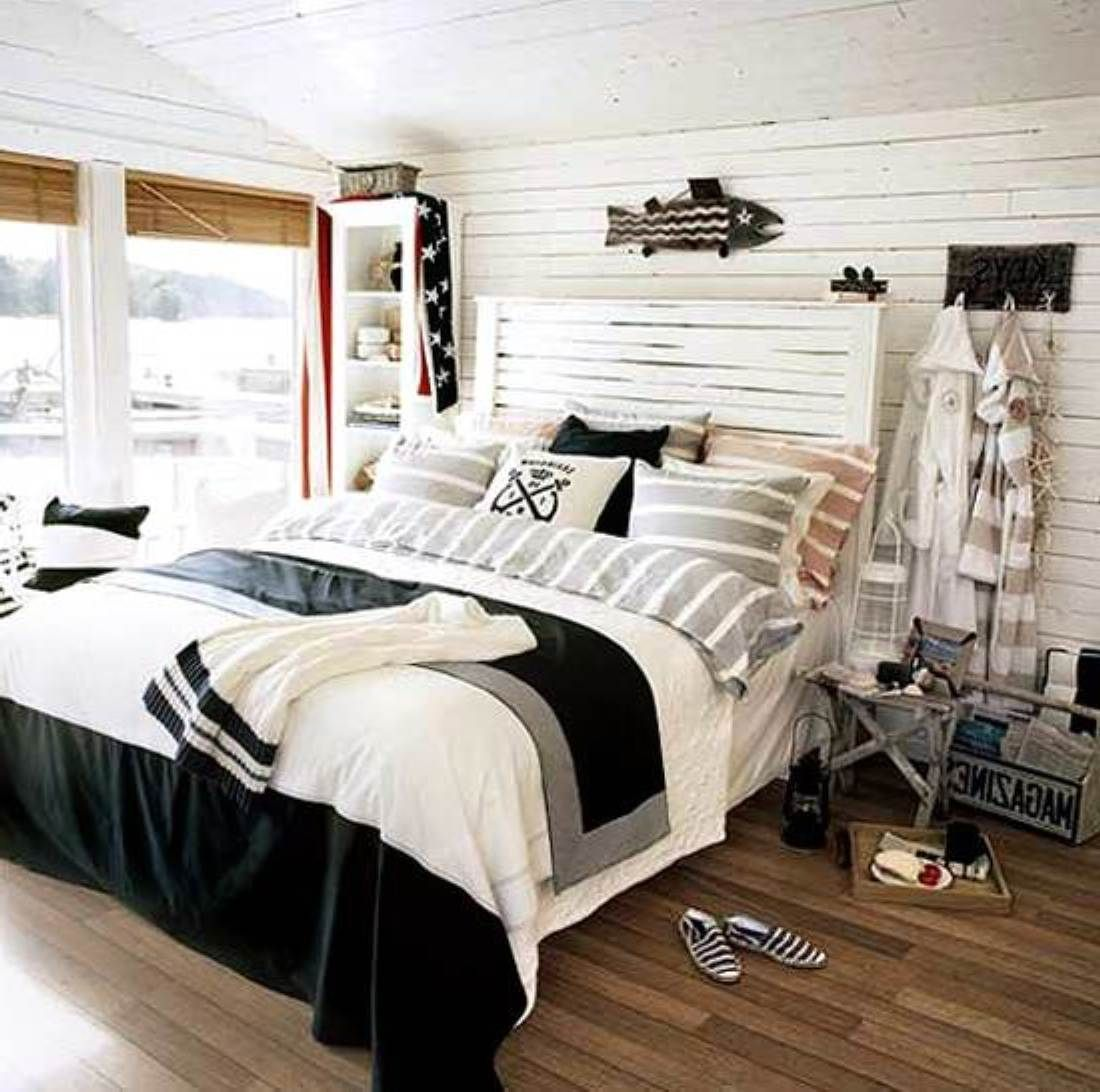 Nautical Themed Master Bedroom The
