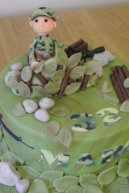 Airsoft Cake Will Be Better If Is Green Tea Flavor