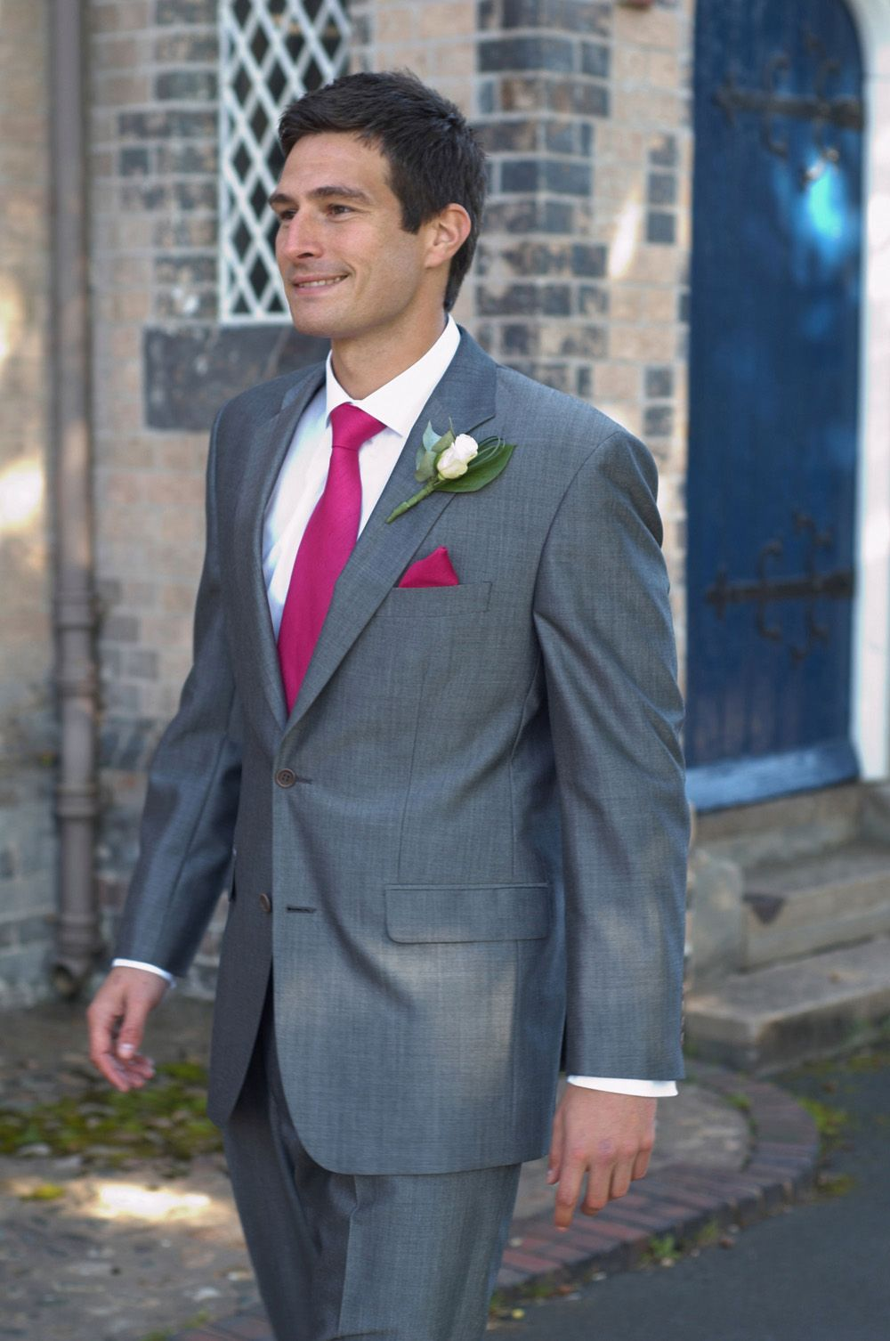 grey suit for wedding | ... grey slim fit suits with matching ...
