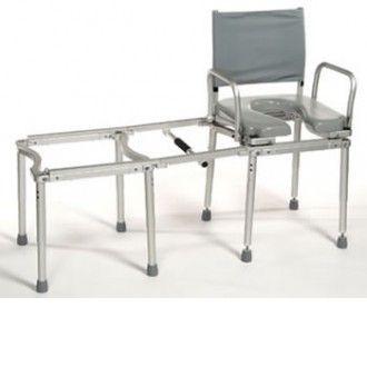 Multichair Deluxe 50  Transfer Shower/Commode Chair | 1800wheelchair.com  sc 1 st  Pinterest & Multichair Deluxe 50 | Bathroom Transfer Systems | Shower commode ...