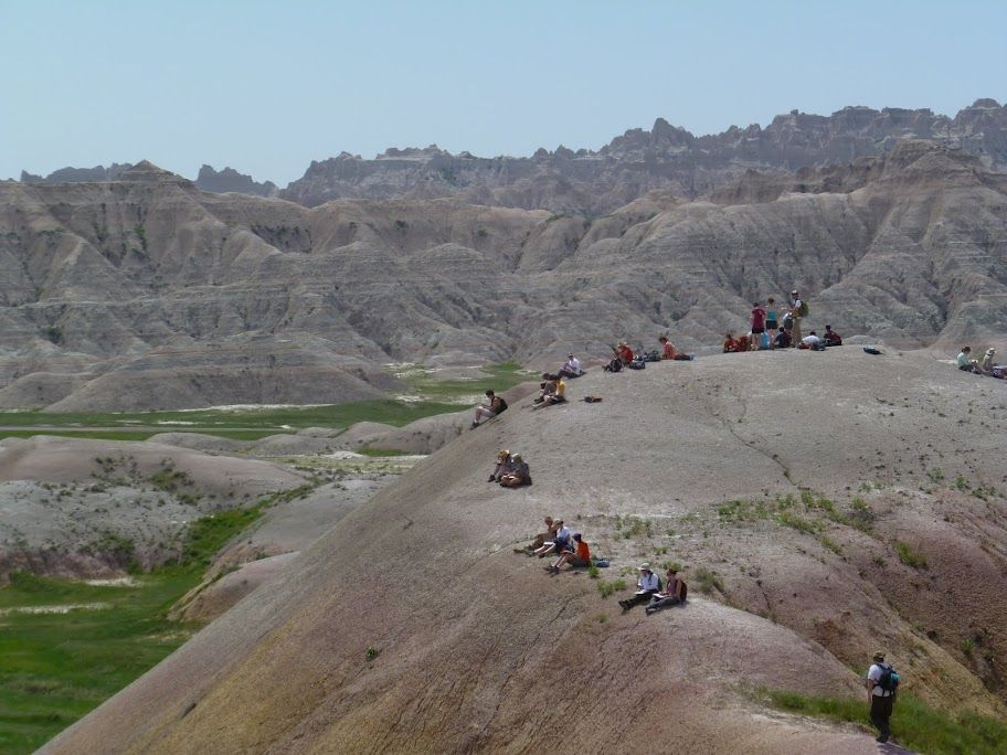 Lehigh University students on Field Camp learn to make geologic maps in South Dakota's Badlands. What a way to spend the summer!