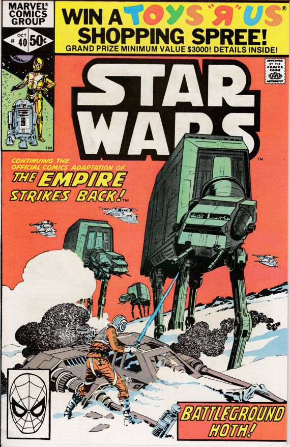 Star Wars 1977 Marvel 40 October 1980 Issue Marvel By Viewobscura 20 00 Star Wars Comic Books Star Wars Comics Star Wars Books