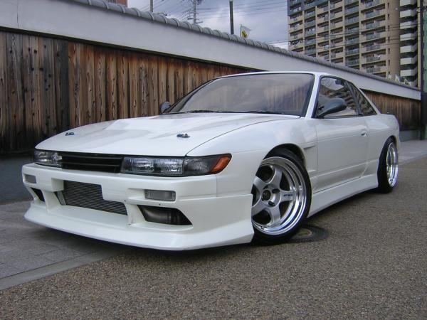 Nissan Silvia K S S13 White Nissan Silvia Nissan