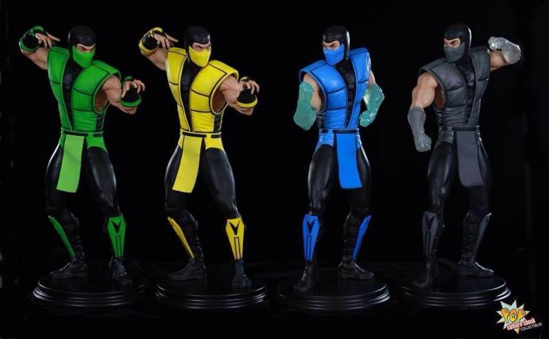 Reptile Scorpion Sub Zero And Smoke Mortal Kombat Superhero