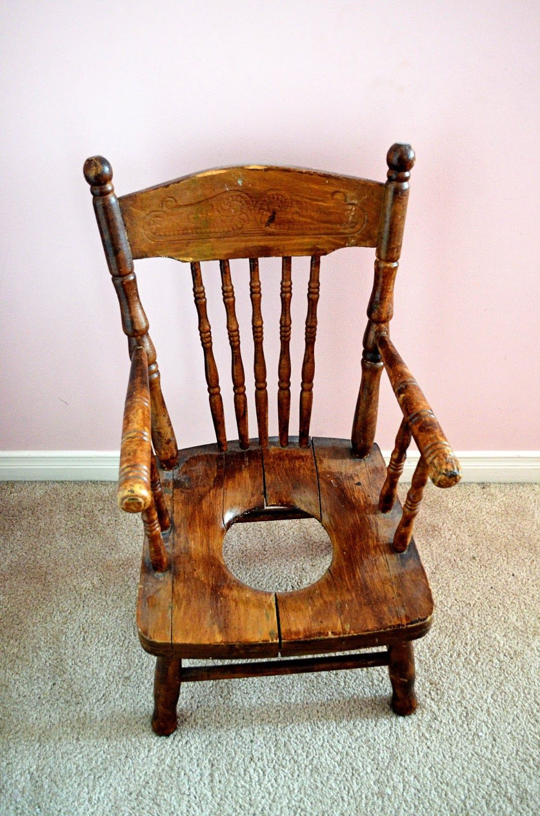 antique potty chair - Antique Potty Chair Country Living Pinterest Antique Chairs