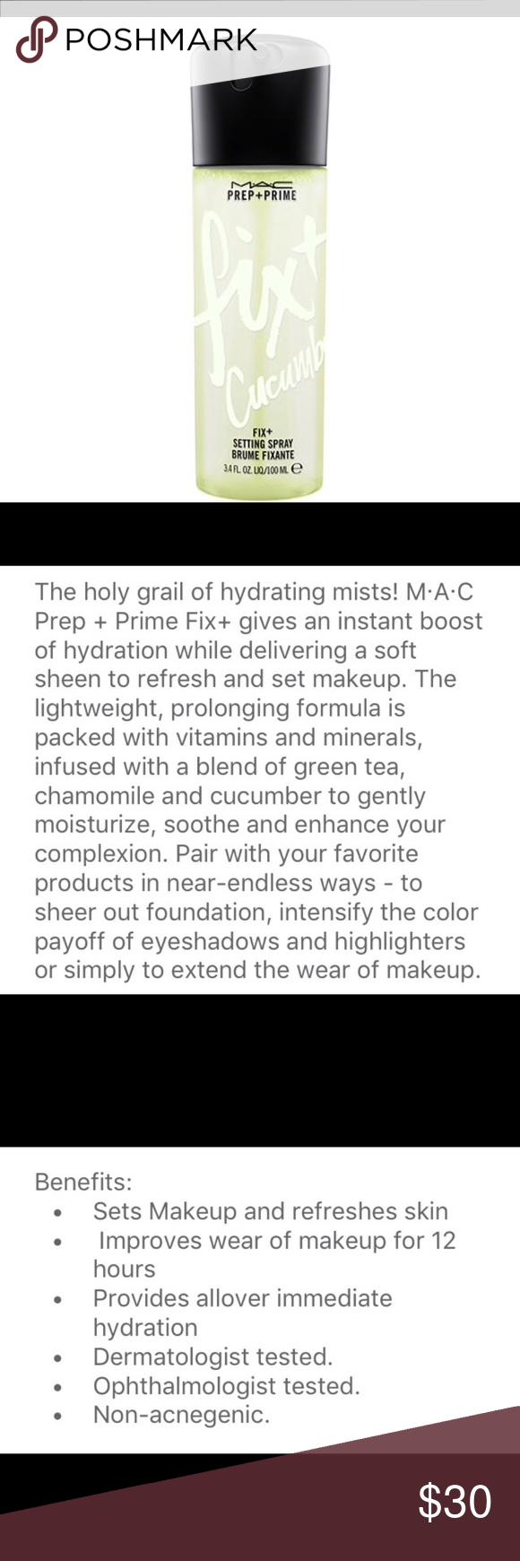 Dupe/homemade Mac Fix plus or makeup setting spray. Cost