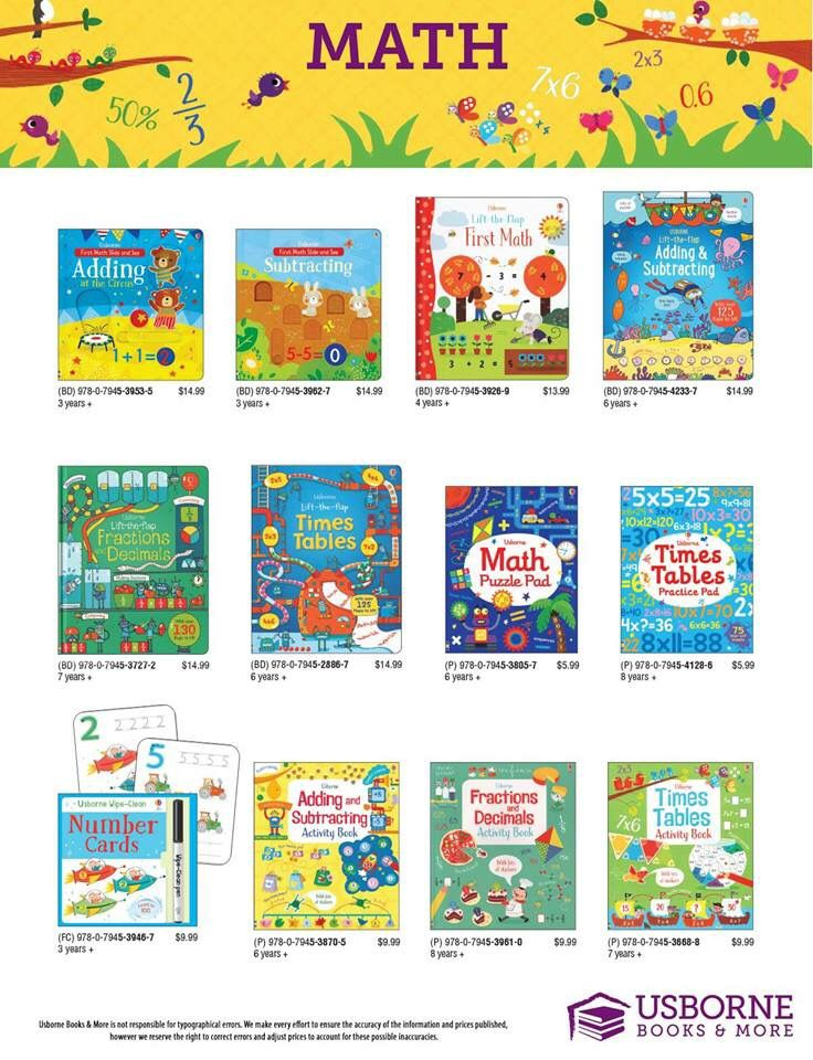 Usborne Books & More Guide image by Our Holmes Library