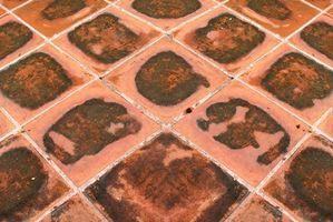 stick vinyl tile glue from floor