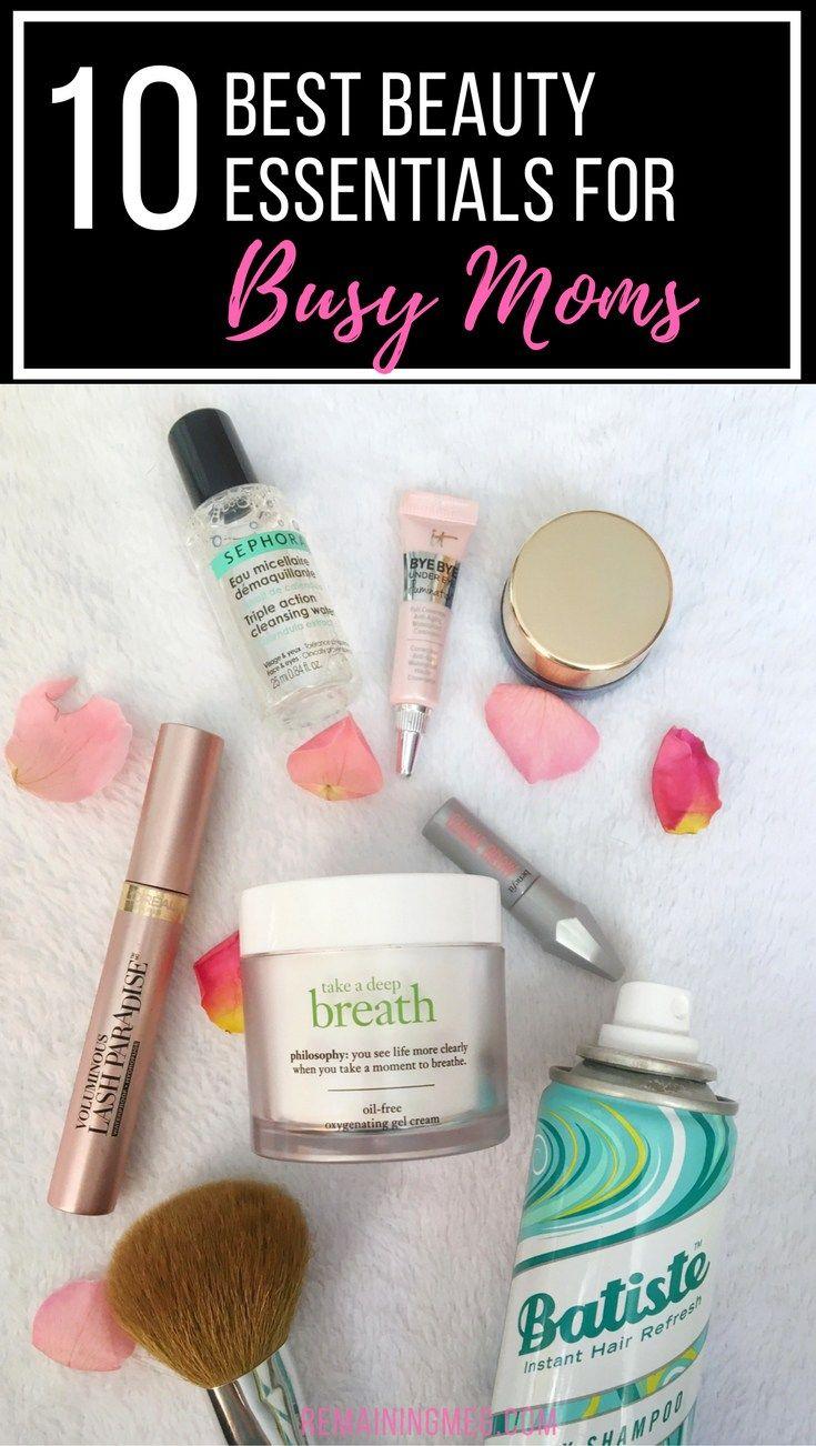 10 Best Beauty Essentials for Busy Moms #beautyessentials