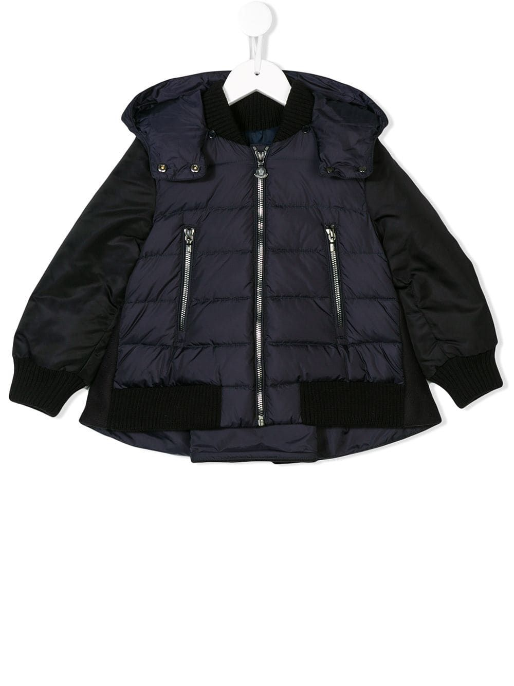 10ecf88f0 Moncler Kids zipped padded jacket - Blue in 2019 | Products | Padded ...