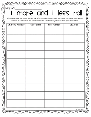 Free Worksheets » 10 More 10 Less Activities - Free Math ...