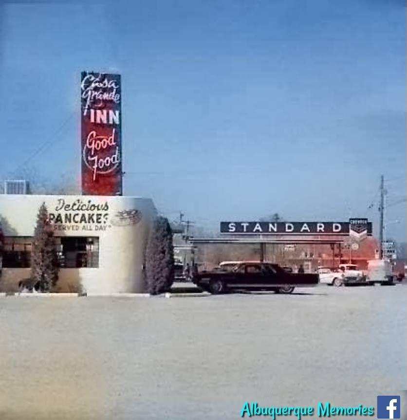 Casa Grande Lodge Albuquerque, NM Postcard