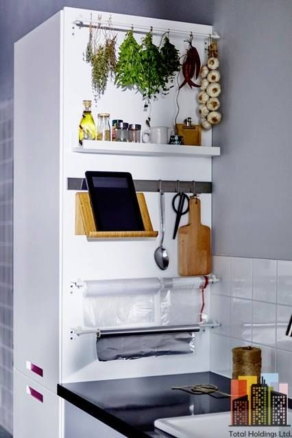 59 Extremely Effective Small Kitchen Storage Space Management Ideas