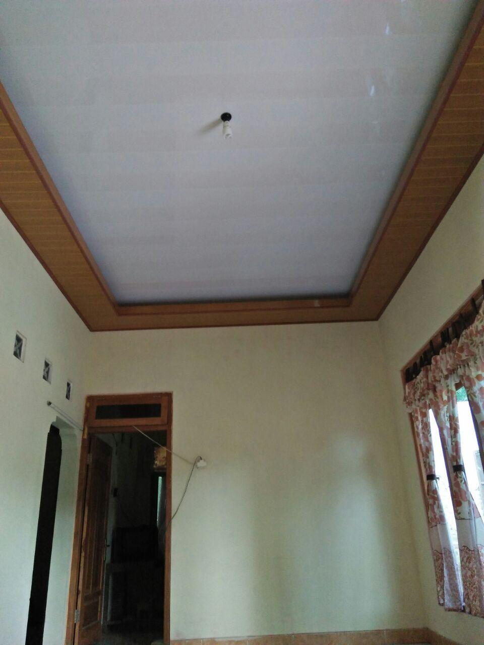 081 376 986 067 Plafon Pvc 185 Rb Untuk Tingkat Ada Tv Roof Penambahan 150