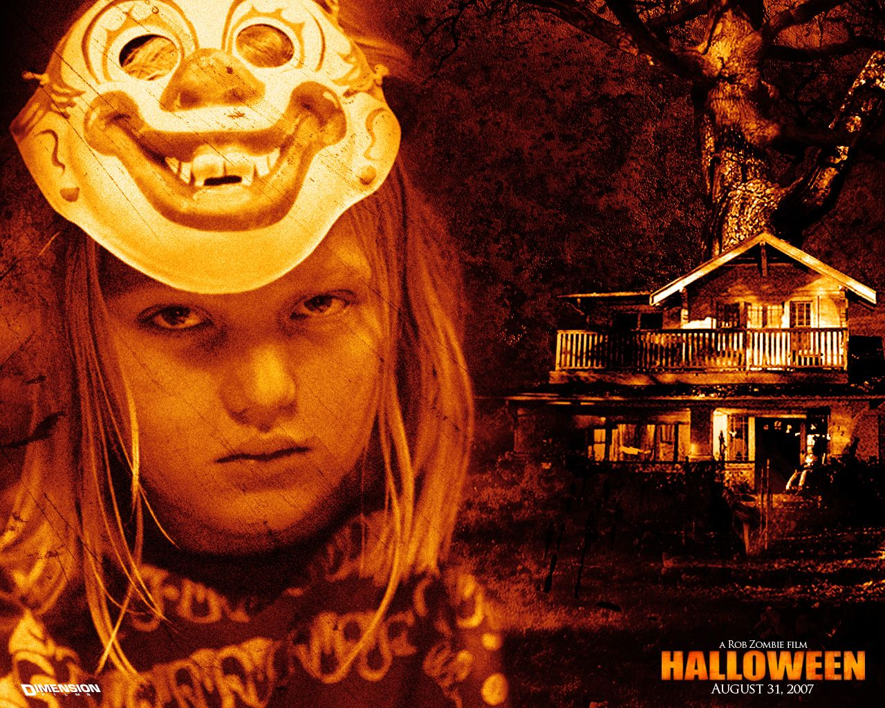 posters and a still from rob zombies halloweenone of my favorite movies along with the classics hd wallpaper and background photos of michael myers - Halloween Movie By Rob Zombie