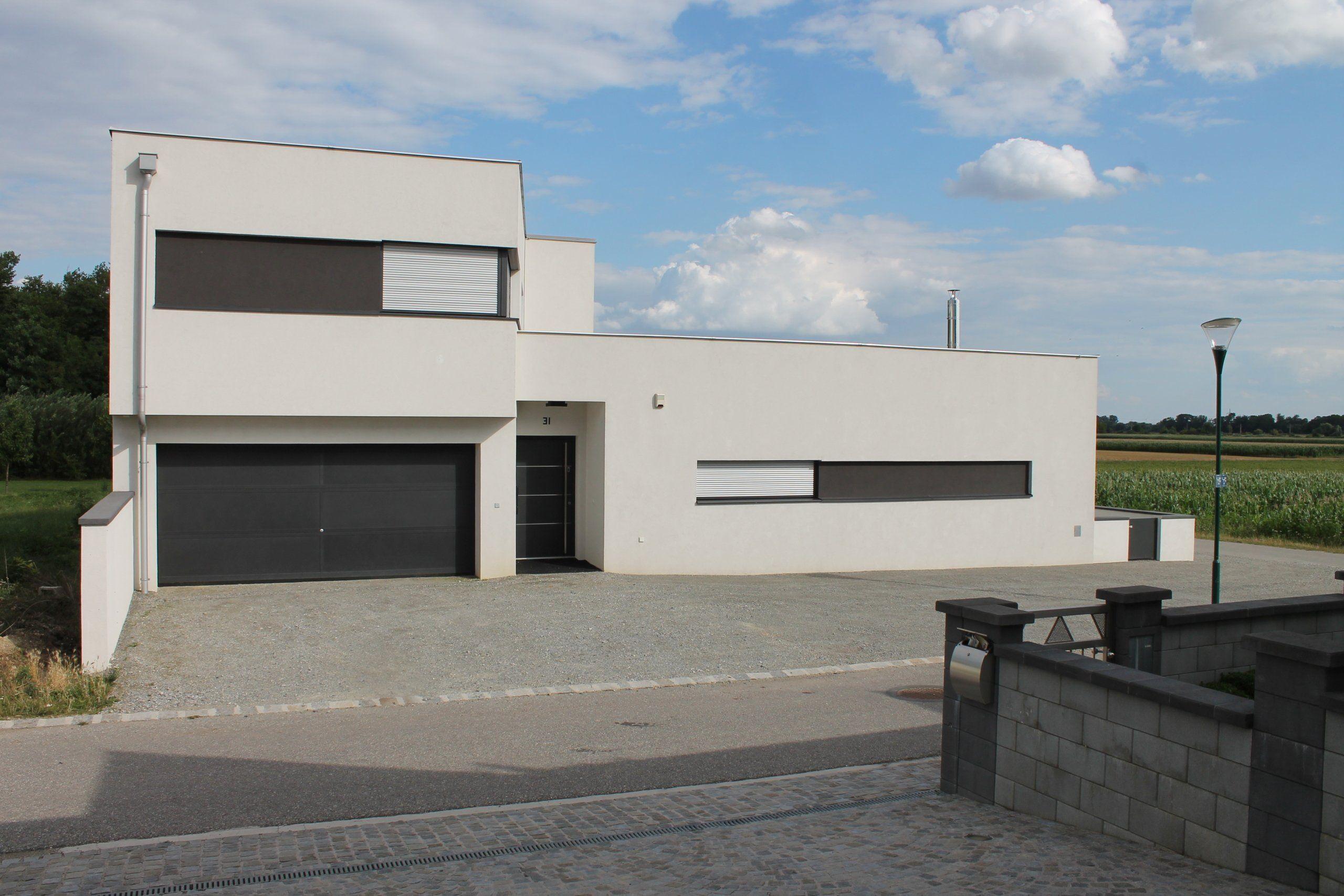 Ökologisch Gedämmt: Modernes Hanghaus