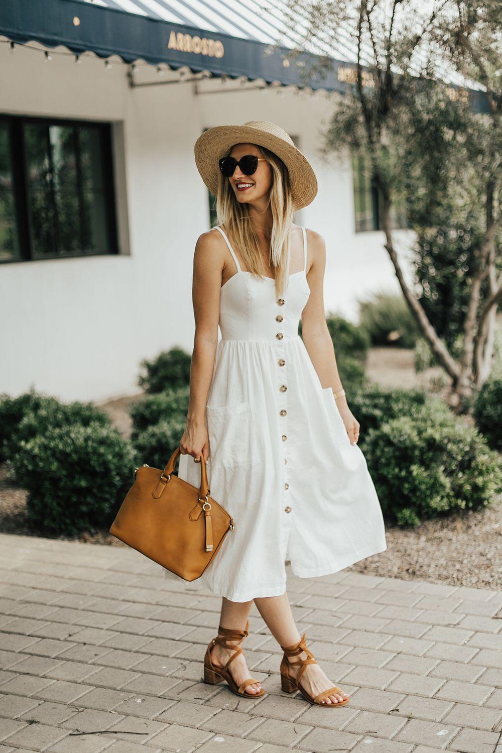 f7235c53452 Button Down Sun Dress
