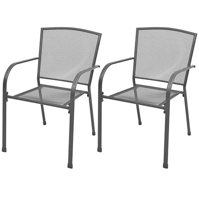 Dining Chairs Stacking Chair Set
