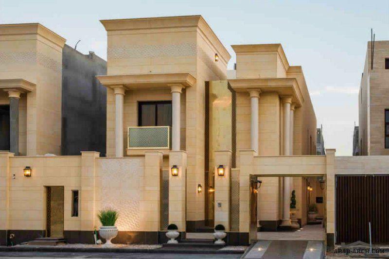 مخطط فيلا مساحة الارض 400 مساحة مسطح البناء 427 36 Luxury Villa Design House Outside Design My House Plans
