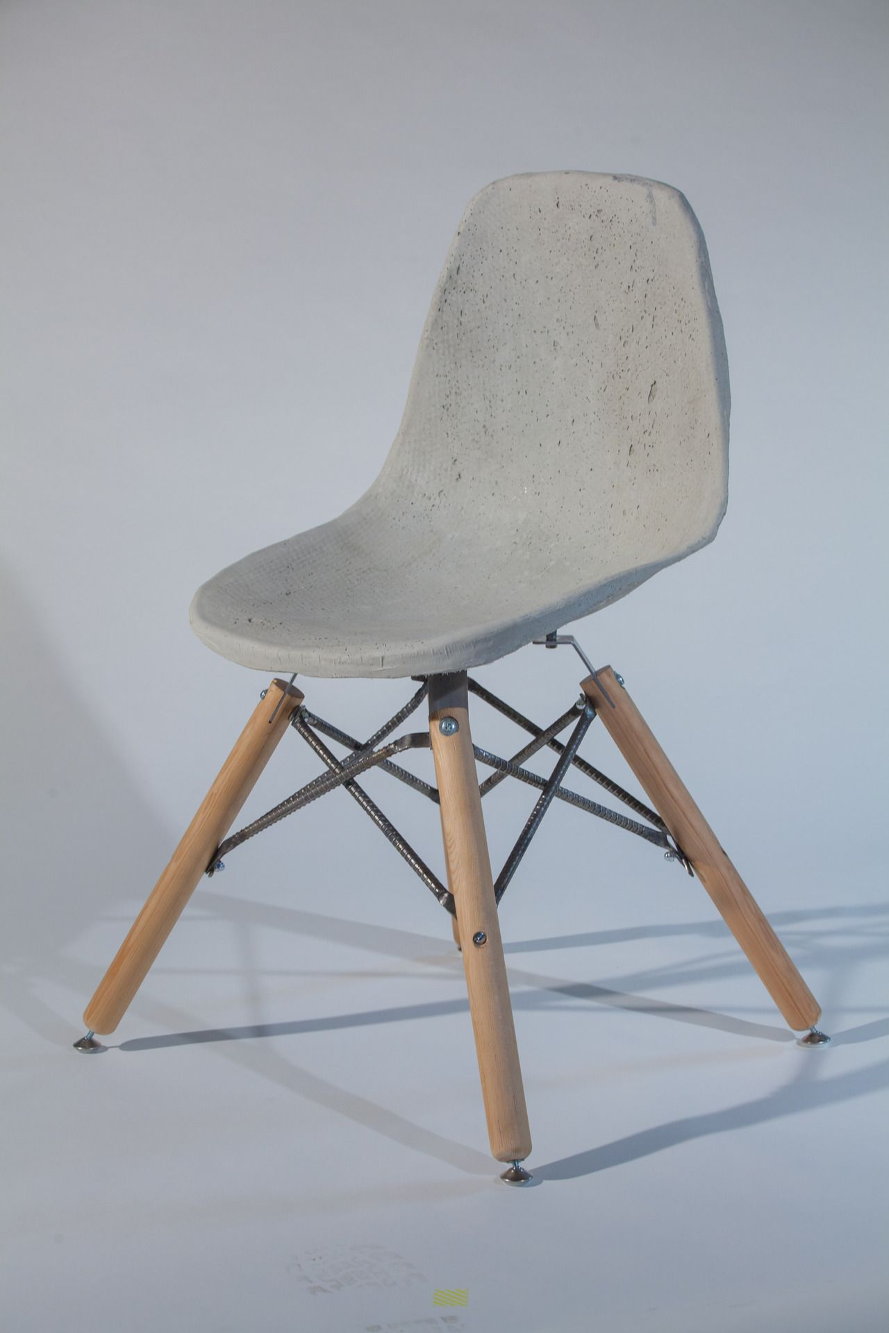 Concrete Rebar Chairs Saville And Knight Concrete Chair By Canadian Designer Ryan