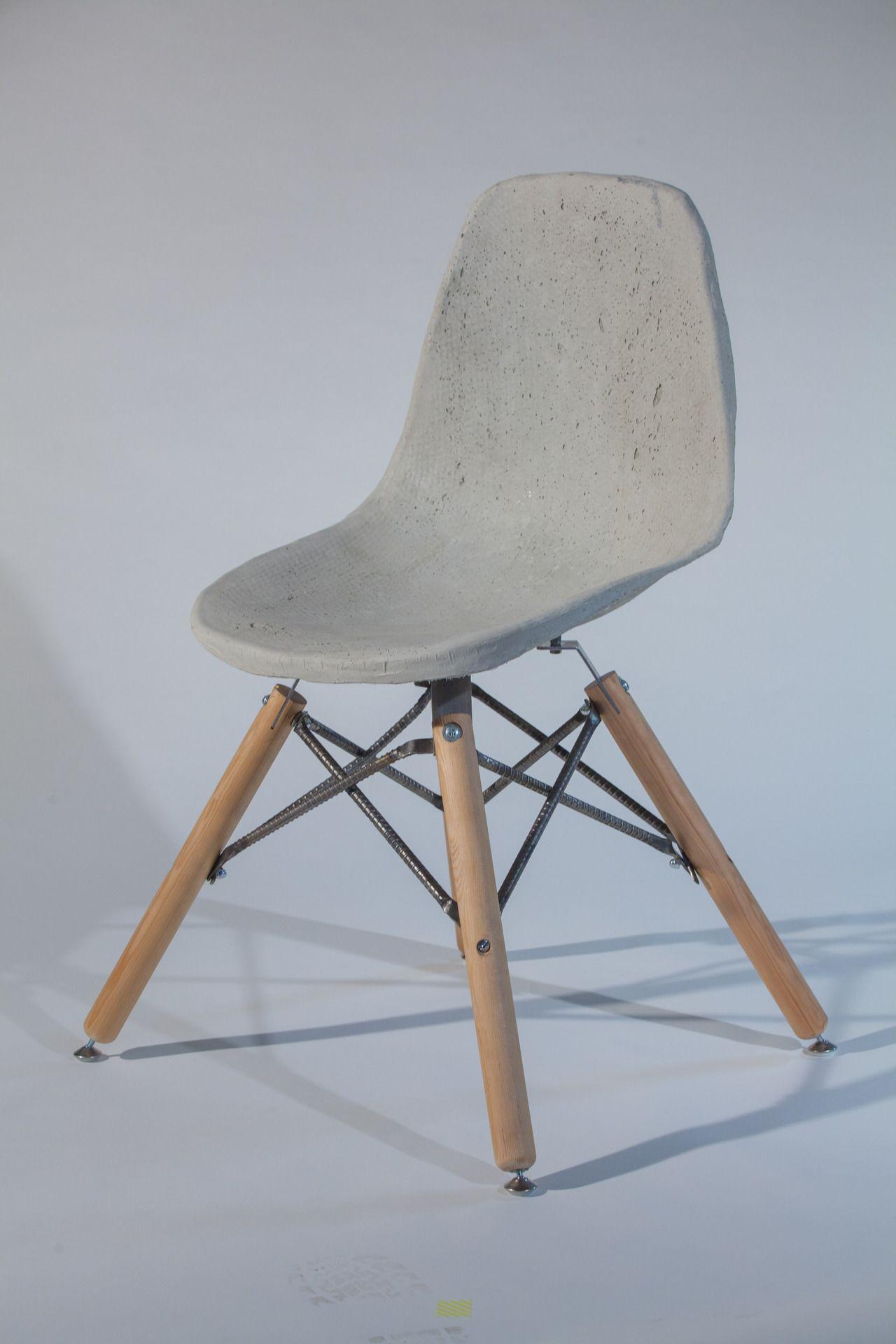 Canadian Design Furniture concrete chair | chair . stuhl . chaise | design: ryan spotowski
