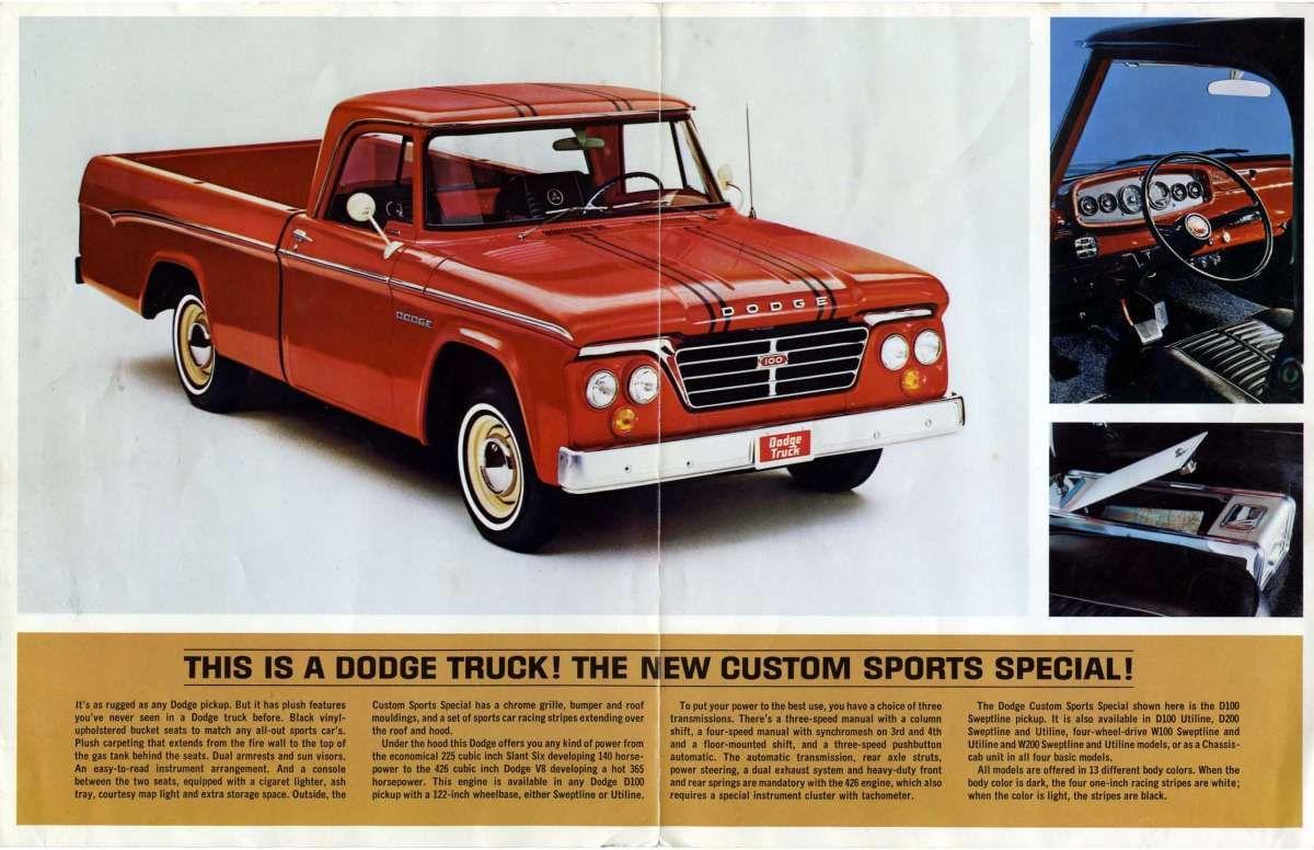 1964 dodge truck
