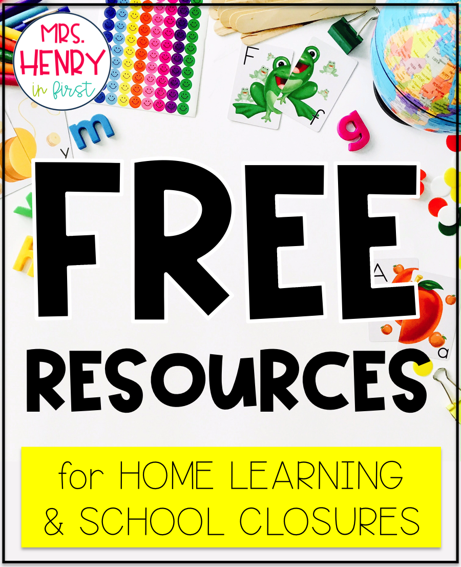 FREE Teacher Resources for Home Learning