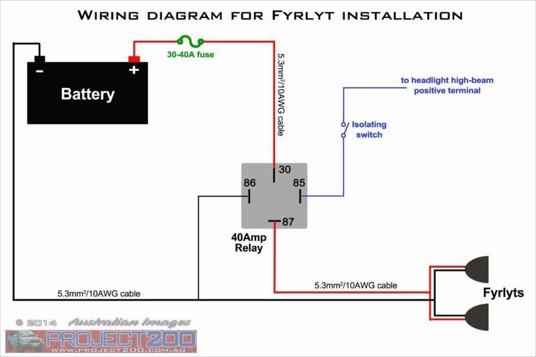40 Amp Relay Wiring Diagram Luxury Elegant 12 Volt Relay Wiring Diagram Diagram Of 40 Amp Relay