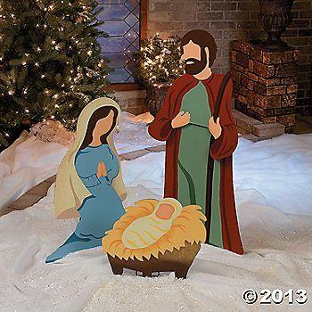 Nativity Scene Yard Decor Christmas Yard Art Outdoor Christmas Decorations Yard Outdoor Nativity Scene