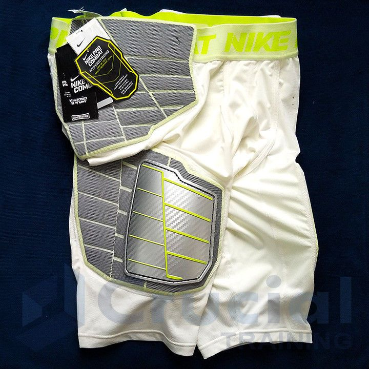 Nike pc hyperstrong 30 hard plate padded football girdle