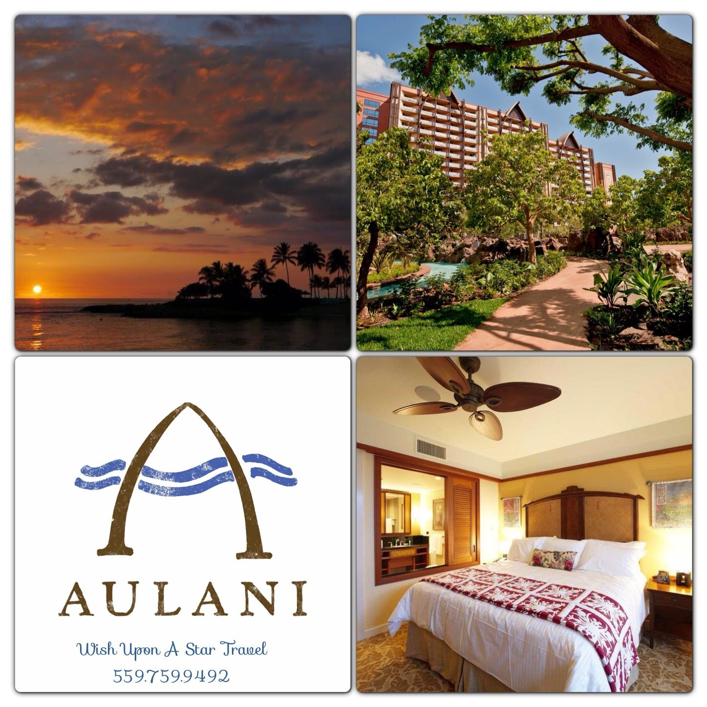 Call Us Now To Book Disney's Aulani Resort In Oahu, Hawaii