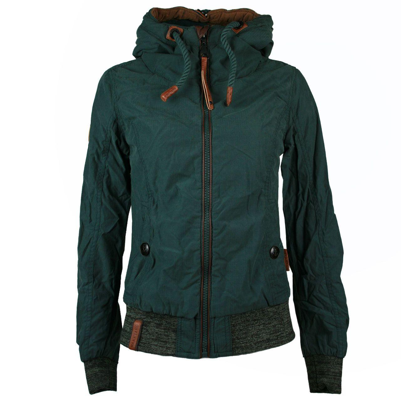 Naketano Damen Jacke / Form: Schnipp schnapp Pimmel ab / Farbe: petrol -  FarbNr