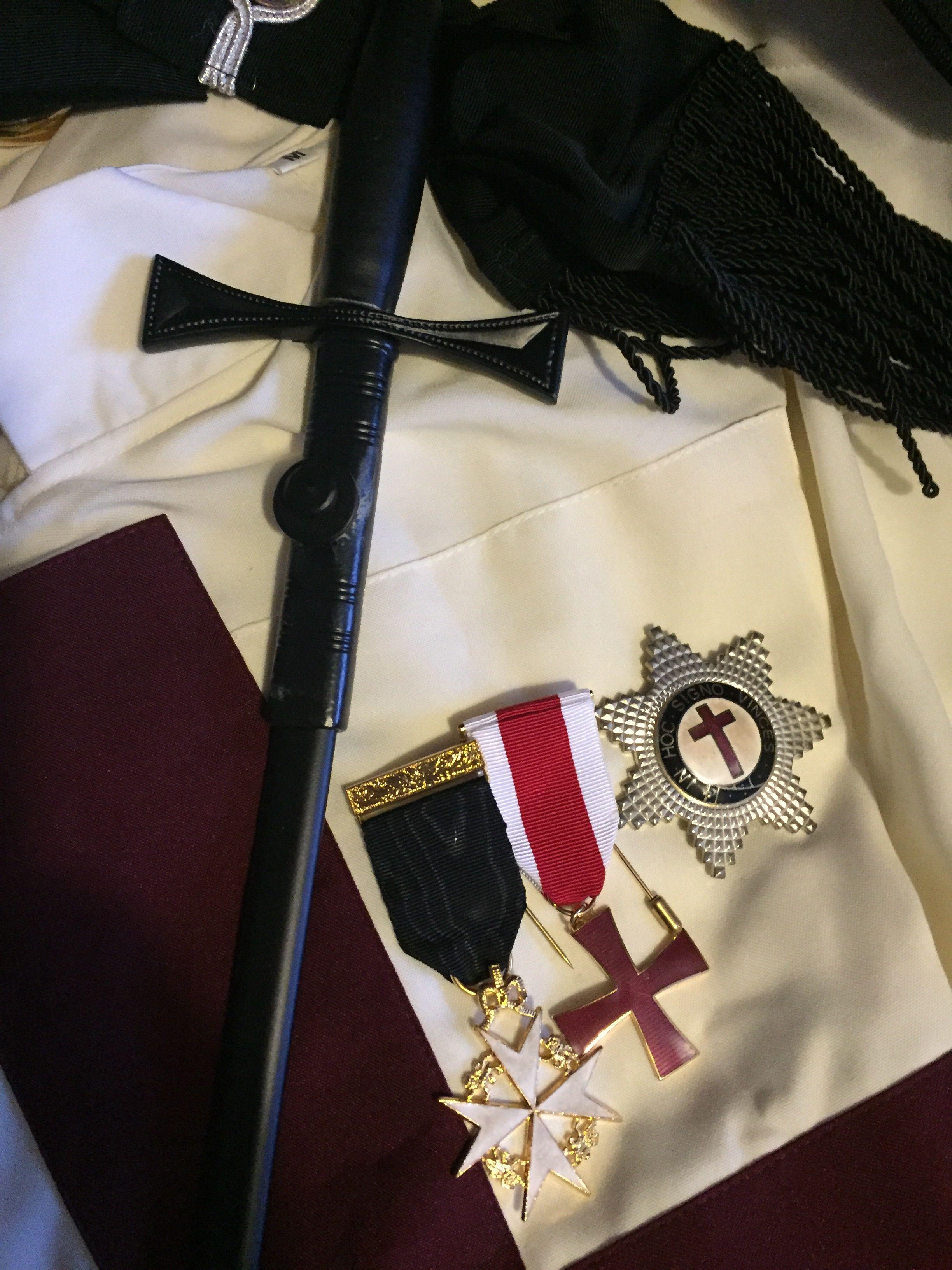 KT Masonic Knight Templar regalia | Knights Templar Commandery