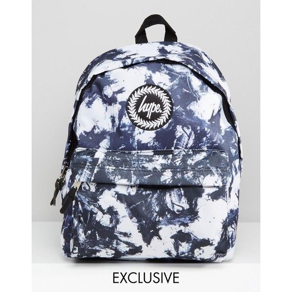 acc5251e70 Hype Exclusive Monotone Stroke Backpack ( 33) ❤ liked on Polyvore featuring  bags