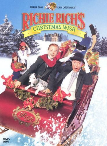 Richie Rich S Christmas Wish Dvd 1998 Best Buy Christmas Movies Richie Rich Free Movies Online
