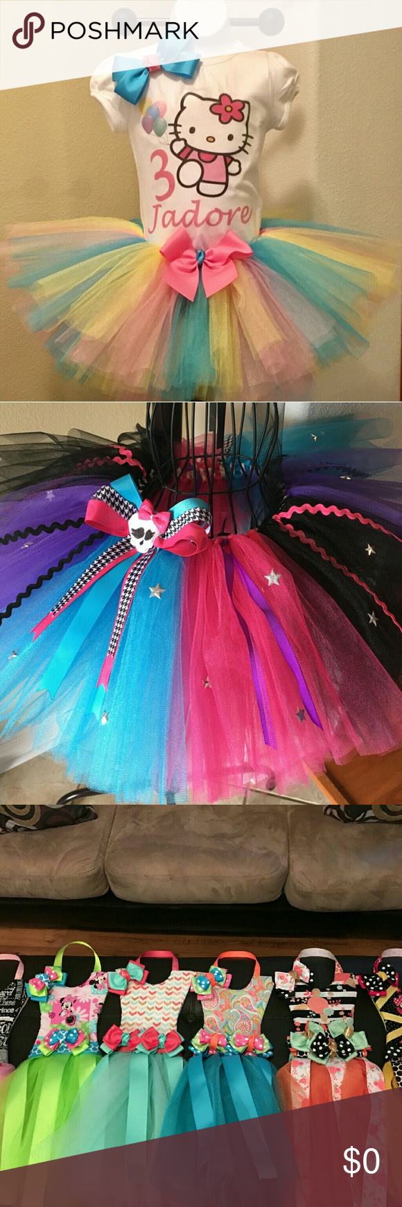 Custom Shirts, Tutus, Bow Holders Create your own, will ...